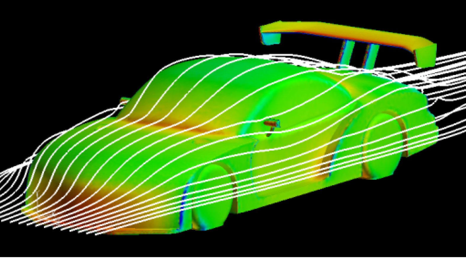 Investigation of Flow Phenomena and Application to Car Technology